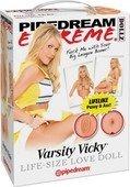 Кукла надувная Varsity Vicky, реалистичная вагина и анус