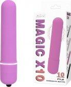 Вибромассажер пуля Magic X10 розовая